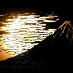 北斎-冨嶽三十六景 凱風快晴「赤富士」